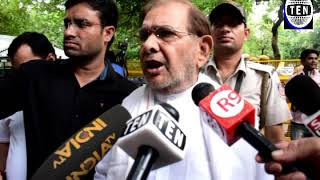 LJP leader Sharad Yadav Reacts to Former Delhi CM Sheila Dikshit Demise
