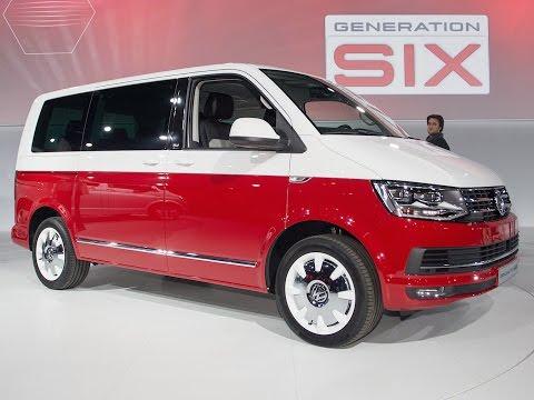 VW T6 2015: Der neue Volkswagen Bulli - Vorstellung
