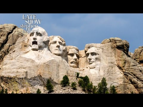Mount Rushmore Responds To Trump's Monument Bill