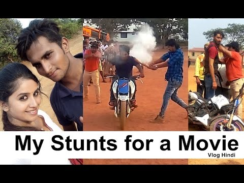 Extremely Dangerous Stunts for a Movie -  My Vlog 01