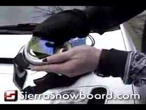 How To Change A Snowboard Goggle Lens. A quick tutorial on how to change