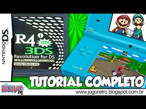 Como usar cartão R4i (Flashcard) no Nintendo DS (DSi / 3DS / DSi XL ou XXL / 2DS) TUTORIAL COMPLETO