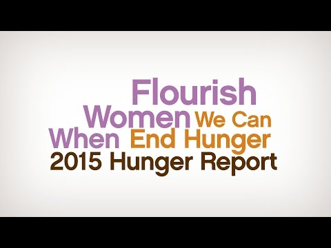 When Women Flourish We can End Hunger
