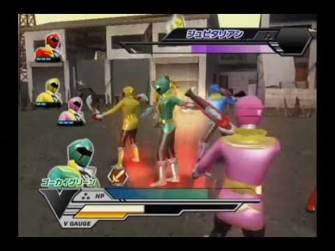 [Wii] Super Sentai Battle: Ranger Cross - Gokaiger Chapter. Part 1 (Stages 1 to 4)