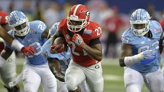 Nick Chubb Reminds College Football Fans How Good He Is | CampusInsiders