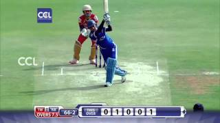 CCL6 Finals - Dhruv Sharma Fabulous 97 Runs Karnataka Buldozers - Match Innings
