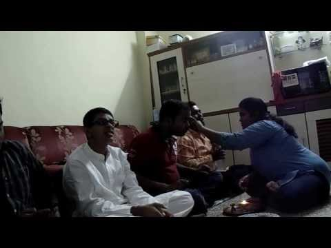 Four Brothers And Sister Enjoying Bengali Culture video