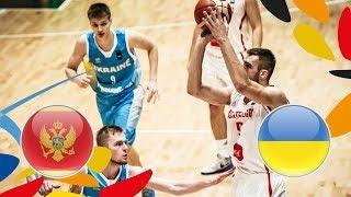 Montenegro v Ukraine - Full Game - Class. Game 11-12 - FIBA U20 European Championship 2018