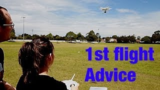 DJI Phantom - First Flight Advice