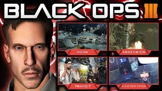 Black Ops 3 Zombies - Zombies ONLY DLC! Moon Remake Map! (Black Ops 3 Zombies Gameplay)