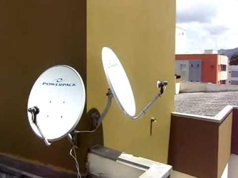 ... das antenas nos satélites hispasat, starone c2 e amazonas. - YouTube
