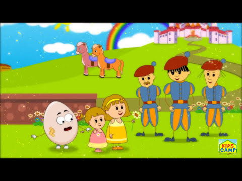 Humpty Dumpty Nursery Rhyme - Popular English Rhymes for Children