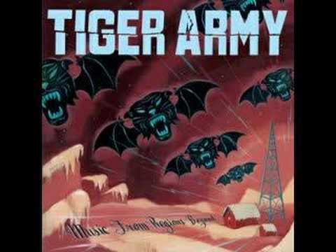 Tiger Army - Where The Moss Slowly Grows