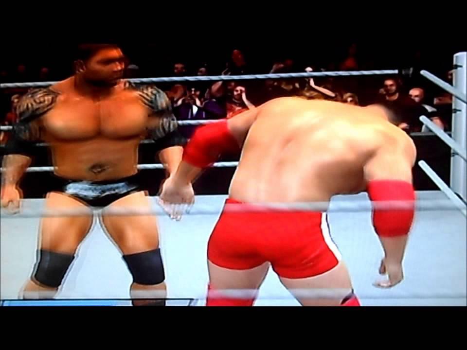 WWE 2011 Batista Vs Vladimir Kozlov - YouTube