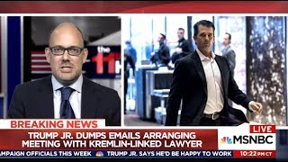 """TRUMP JR. EMAILS  """"Screams Conspiracy To Violate Federal Election Law"""""""