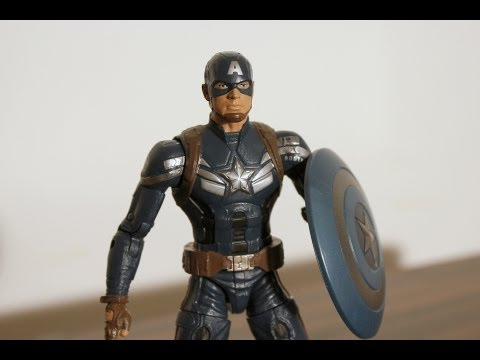 Hasbro Captain America: The Winter Soldier Marvel Legends figure review