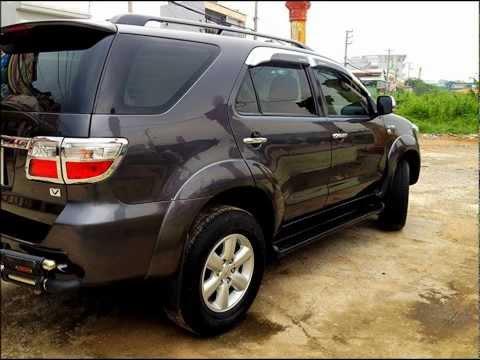 Bán Xe Ô tô Toyota Fortuner V 2.7 đời 2009 giá 775 Triệu, Toyota Fortuner 2009 màu đen