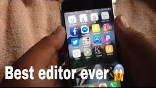 How to edit video on your phone tagalog tutorial by MarkJames Macapagal