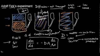 lecture 16 part 1 (Diffusion, 1st law)