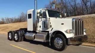 FOR SALE 2015 PETERBILT 389 SMALL FLATTOP SLEEPER