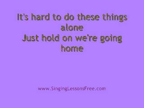 Drake -  Hold On We're Going Home, Lyrics video