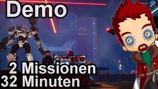 💣 Daemon X Machina 🎮 Demo Gameplay 🔫 Deutsch 👏 Nintendo Switch (60fps, 4K, German, Blind)