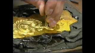 Metal Chasing/Repousse Art- Avedis The Master At Work.