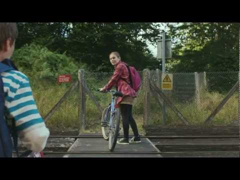 TV advert showing dangers of getting distracted when using railway crossings.