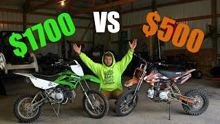 Pit bikes... Cheap Or Expensive?