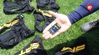 Tecnologa para medir el desempeño de los futbolistas