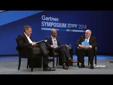 Microsoft CEO Satya Nadella interviewed at Gartner Symposium/ITxpo Orlando 2014