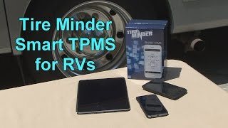 Tire Minder Smart TPMS for RVs