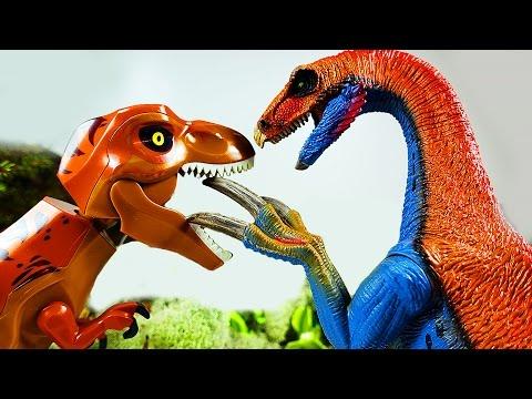 ДИНОЗАВРЫ. Жестокие Динозавры ЛЕГО LEGO. Динозавры мультфильм для детей на русском LEGO Игрушки ТВ