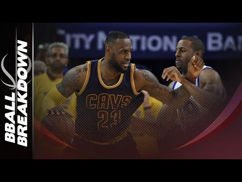 How The Warriors Defended The Cavs Nuclear Option: LeBron James