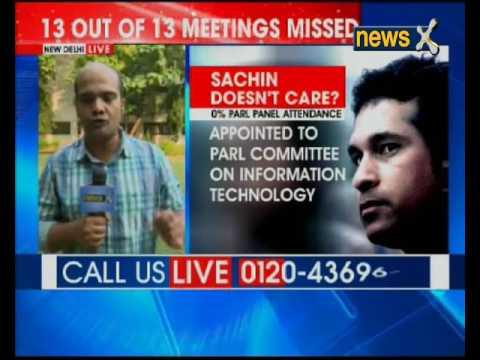 Inspite of 0% attendance, Sachin Tendulkar back in Information Technology panel