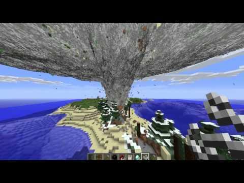 Minecraft prezentacje modów 31 [1.4.5] [Tornado mod] Weather & Tornadoes v1.22