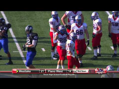Austin Westlake vs Plano West - 2012 Playoffs