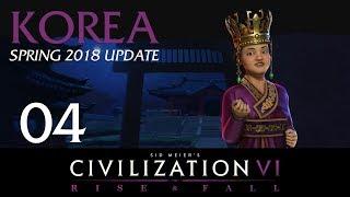 Civilization 6 Let's Play | Deity Korea | Completely Random Start - Episode 4 [Aussie No]