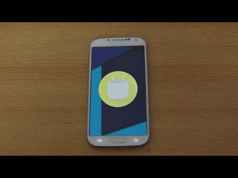 Samsung Galaxy S4 Android 6.0.1 Marshmallow CrDroid CM13 ROM Review (4K)
