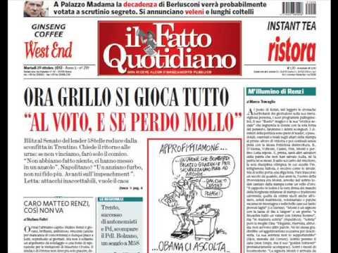 M'illumino di Renzi   di Marco Travaglio   29 ottobre 2013