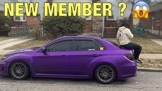 Purple Subie WRX Gets Slammed ! Female Driven !