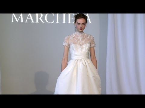 Marchesa Bridal Spring 2015 -- New York Bridal -- Backstage, Interviews & Runway | Videofashion