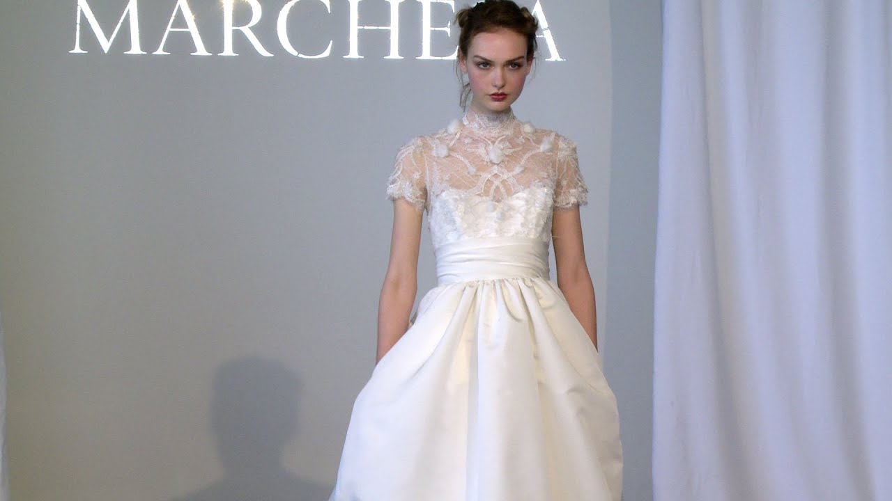 Wedding Dress Gemach New York : Marchesa bridal spring new york fashion