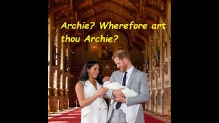 Archie? Wherefore art thou Archie???