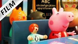 Playmobil Film deutsch | EMMAS EINSCHULUNG in Peppa Wutz Schule - Ist sie klug genug? |Familie Vogel