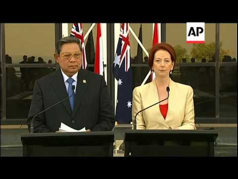 Australia, Indonesia boost ties to fight smuggling