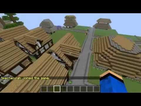 Minecraft Hunger Games Build