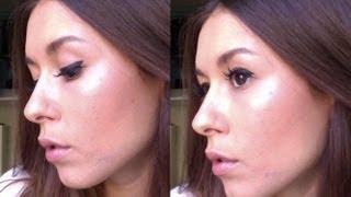 Tutorial maquillage  Contouring  Illuminateur