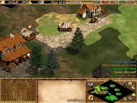 Age of Empires 2: Age of Kings Walkthrough Barbarossa Part 6 - Henry the Lion Part 1