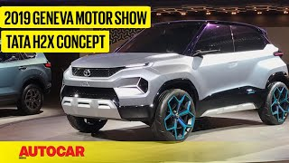 Tata H2X Concept | First Look Preview | Geneva Motor Show 2019 | Autocar India